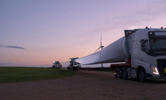 Transport wiatraków